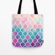Rainbow Pastel Watercolo… Tote Bag