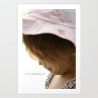 I am Beautiful Art Print