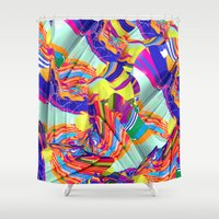 To Swim Shower Curtain