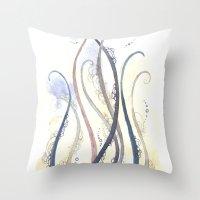 Sea Beast Throw Pillow