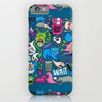 iPhone & iPod Case featuring Gross by Chris Piascik