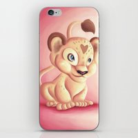 Lena Lioness iPhone & iPod Skin