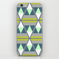 Tribal Blues iPhone & iPod Skin