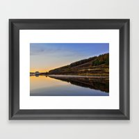 Suilven across Loch Craggie Framed Art Print