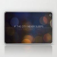No Sleep Laptop & iPad Skin