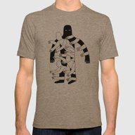 The Hole Mens Fitted Tee Tri-Coffee SMALL