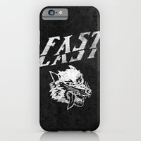 iPhone Cases featuring FAST over LAST by Ricca Design Co.