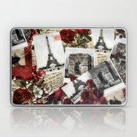 Postcards from Paris Laptop & iPad Skin