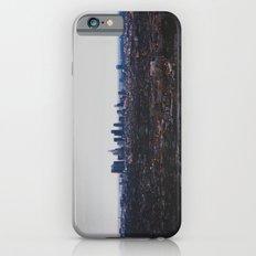 Los Angeles in fog iPhone 6 Slim Case