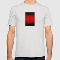 Ever Mens Fitted Tee Silver SMALL