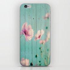 Sweet Flowers on Wood 07 iPhone & iPod Skin