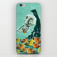 Take a Risk! - Piranhas iPhone & iPod Skin