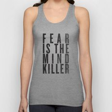 FEAR IS THE MINDKILLER Unisex Tank Top