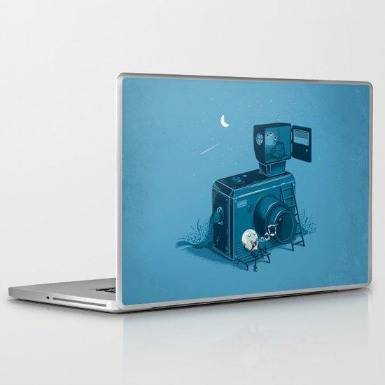 Quitting Time Laptop & iPad Skin