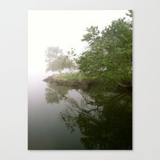 fog clearing Canvas Print