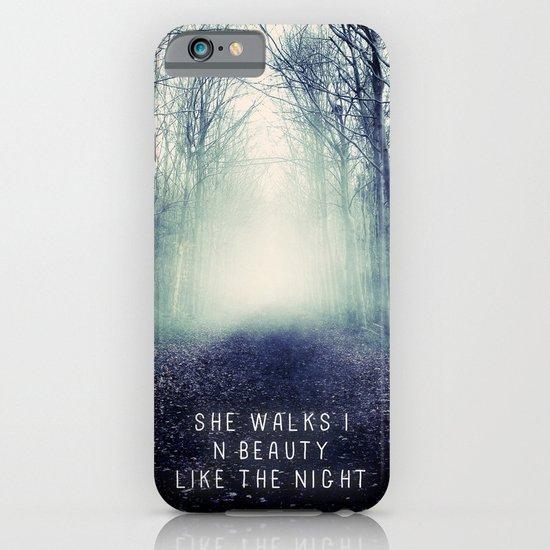 She Walks In Beauty iPhone & iPod Case