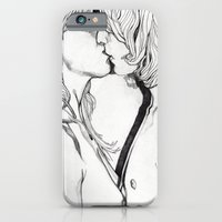 iPhone & iPod Case featuring THE KISS by Paul Nelson-Esch /Expeditionary Club