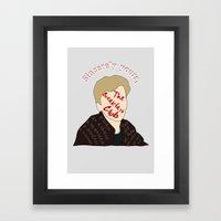 The Breakfast Club - Brian Framed Art Print