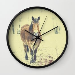 Wall Clock - Wandering beauty - HappyMelvin