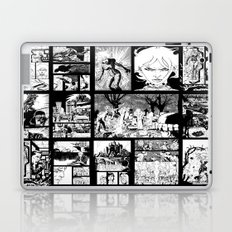 WHITE - A nne Frankenstein Book I - Resurrection Laptop & iPad Skin