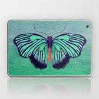 Butterfly in Spring Green Laptop & iPad Skin