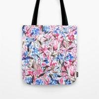 Wandering Wildflowers Pink  Tote Bag