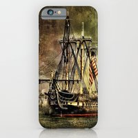 Tall Ship USS Constituti… iPhone 6 Slim Case
