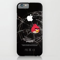 Angry Birds Breaking Glass iPhone 6s Slim Case