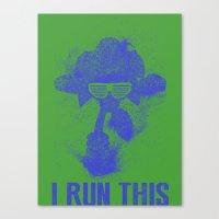 Sonic Boss Canvas Print