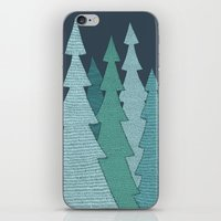 Pines iPhone & iPod Skin