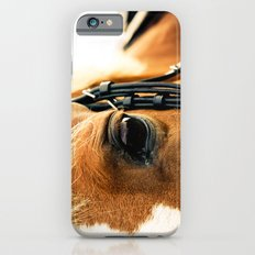 a horse's kind eyes. iPhone 6s Slim Case