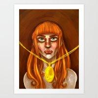 the Lorraine Art Print