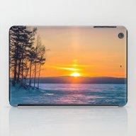 Winter Sunset iPad Case