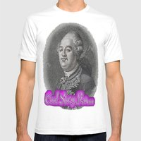 Cool Story King Louis XV… Mens Fitted Tee White SMALL