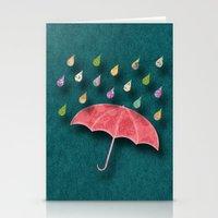 It's Raining, It's Pouri… Stationery Cards