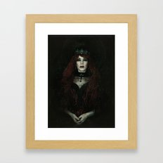 The Banished Queen Framed Art Print
