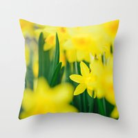 In The Moment Throw Pillow