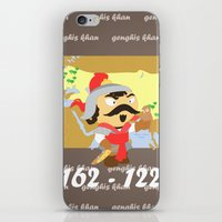 Genghis Khan iPhone & iPod Skin