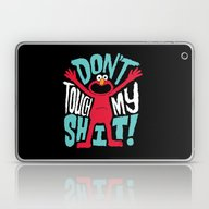 Crazy Elmo Laptop & iPad Skin