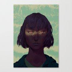 Eyes Hexed Canvas Print
