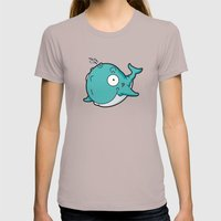 Whale Womens Fitted Tee Cinder SMALL