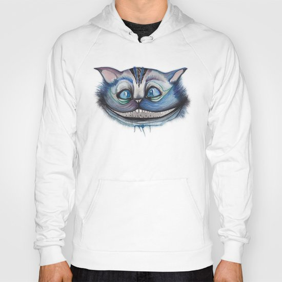 Cheshire Cat Grin - Alice in Wonderland Hoody