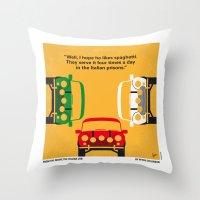 No279 My The Italian Job… Throw Pillow