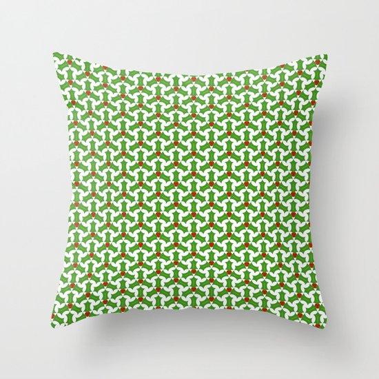HollyLuck Throw Pillow