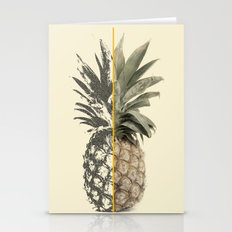 Double Pineapple Stationery Cards