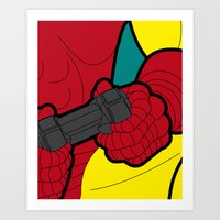 The Secret Life Of Heroe… Art Print