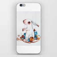 Very big rabbit iPhone & iPod Skin