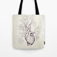 Treeheart Tote Bag