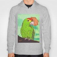 Parrot illustration Hoody