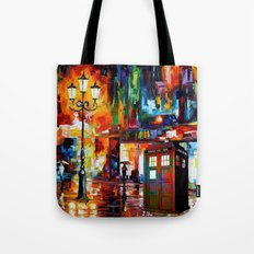 Tardis Painting Tote Bag